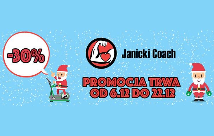 Świąteczna promocja - treningi personalne Szczecin